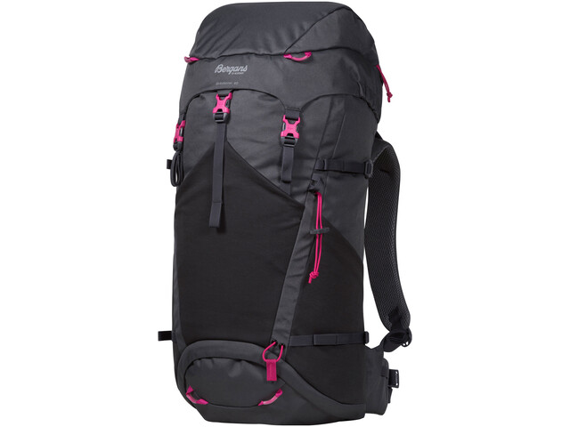 Bergans Birkebeiner 40 Backpack Barn solid dark grey/solid charcoal/hot pink